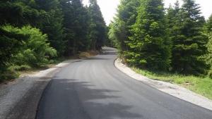 Ολοκαίνουργιος ο δρόμος Αμπουδιώτισσα - Ξηροβούνι.