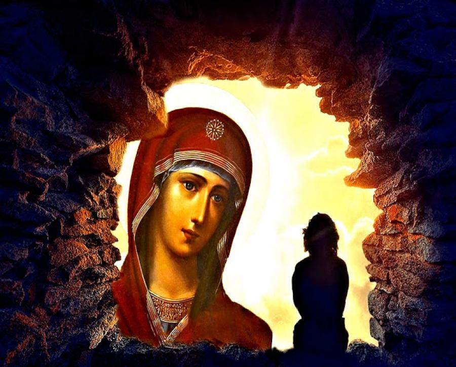 Αποτέλεσμα εικόνας για προσευχη στην παναγια